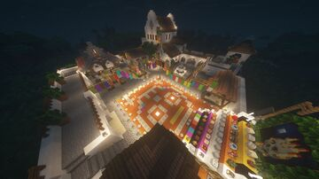 Traditional map of Dia de Muertos Mexico Minecraft Map & Project