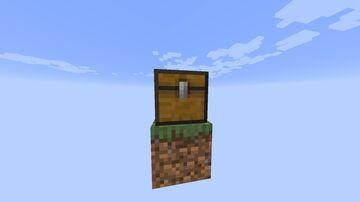 SingleBlock with shop (pl/eng) Minecraft Map & Project