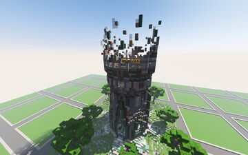 Tower Theme Spawn Minecraft Map & Project