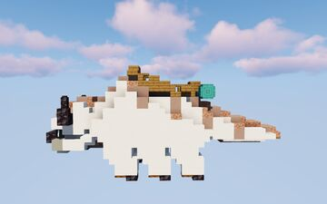 Appa from Avatar: The Last Airbender Minecraft Map & Project
