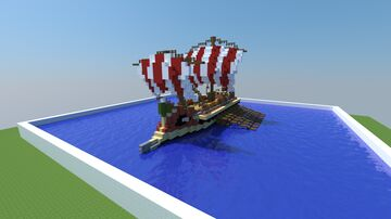 Roman Trireme Minecraft Map & Project