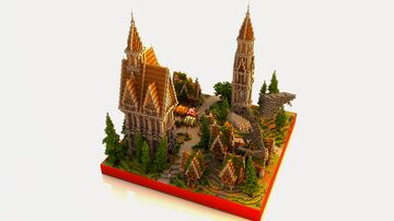 Medieval Spawn Minecraft Map & Project