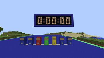 Chronometer 2.0 - Cronômetro 2.0 Minecraft Map & Project