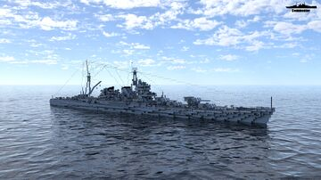 IJN Satsuma 1:1 Scale (Fictional Heavy Cruiser) Minecraft Map & Project