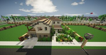 An upper middle class home #1 Minecraft Map & Project