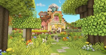 Restaurant in the Mushroom Forest[Download] Minecraft Map & Project
