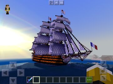 French First rate l'ocean Minecraft Map & Project