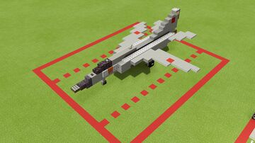 Mig 23 flogger 1.5-1 Minecraft Map & Project