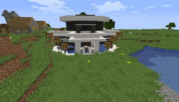 modern mansion no 6 no interior Minecraft Map & Project