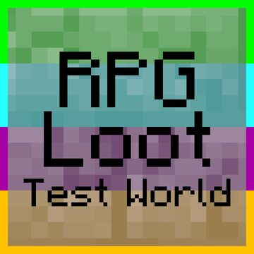 RPG Loot Test World Minecraft Map & Project