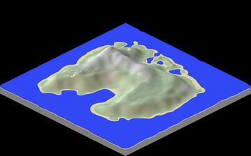 The Great Plateau Island: Frosty Mode Minecraft Map & Project