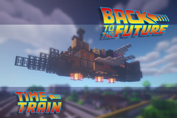 Time Train - Back to the Future Minecraft Map & Project