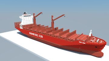 Polar Mexico (1:1 Scale Container Ship) Minecraft Map & Project