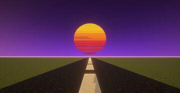 Retro Sun Minecraft Map & Project