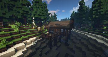 Fisherman,s  hut Minecraft Map & Project