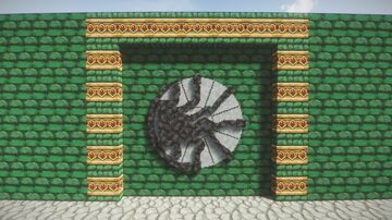 Little tiles doors - Chamber of Secrets Snake Door HP Minecraft Map & Project