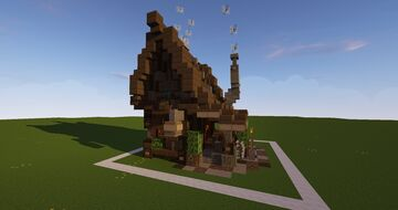Small Blacksmith Minecraft Map & Project