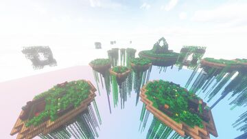 """Sanctuary Gardens - """"Temple Forest v2"""" (Edit) Minecraft Map & Project"""