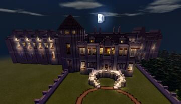 The Phantomhive manor [Black Butler] Minecraft Map & Project