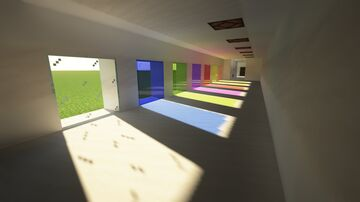Ray Tracing map Test of LeoMacK Minecraft Map & Project