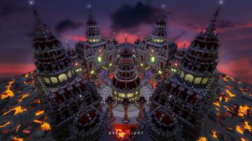 Gloomy Dark Castle Minecraft Map & Project