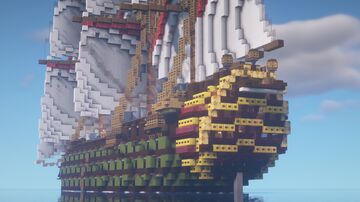 Ship of line 1 clase 4 Minecraft Map & Project