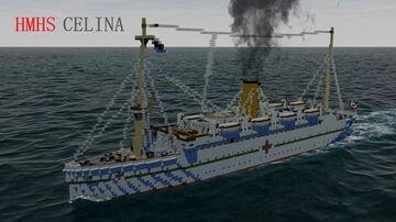 HMHS CELINA [FULL INTERIOR] Minecraft Map & Project