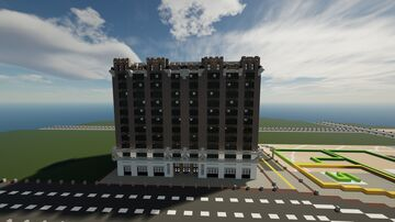 The Little Trinity Building on 7 Dream Ave | New Limesville City | NL | UCS Minecraft Map & Project