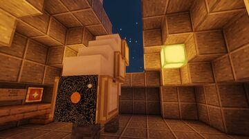 île de recherche de la ev corp Minecraft Map & Project