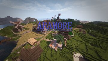 Aramore, an english colony on the Americas Minecraft Map & Project