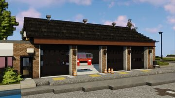 Fire Station | ERT Minecraft Map & Project