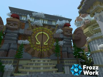 OmegaCraft Hub Minecraft Map & Project
