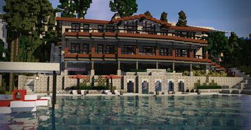 51 Kensington Shores - MCM Lake House [BPS] Minecraft Map & Project
