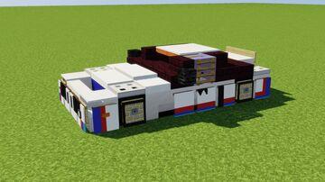 BMW 3.0 CSL Minecraft Map & Project