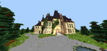 Chateau De Tremaine (cinderella's house) Minecraft Map & Project