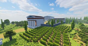 Heraion of Samos - Greek temple complex Minecraft Map & Project