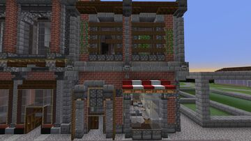 Commercial Building 01 (Graystone) Minecraft Map & Project