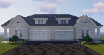 Duplex Home | 𝗖𝗖𝗦 Minecraft Map & Project