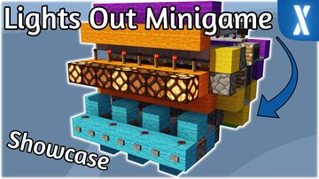 Minecraft Lights Out Minigame   Showcase + Tutorial Minecraft Map & Project