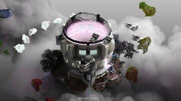 Sc-Fi Waiting Lobby Minecraft Map & Project