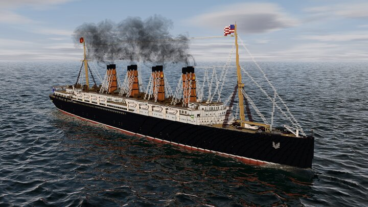 Popular Map : RMS Lusitania
