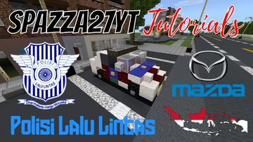 Traffic Police Indonesia Minecraft Map & Project