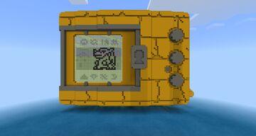 DIGIMON V-PET (METALGREYMON) ADVENTURE MAP! ENTER THE DIGITAL WORLD! Minecraft Map & Project
