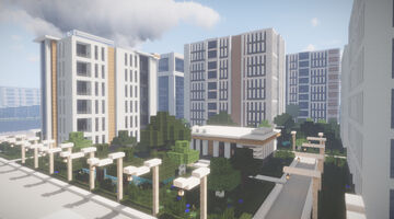 Astra House Apartments Minecraft Map & Project