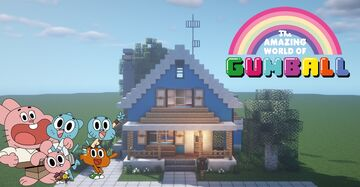 Gumball Watterson House [1.15.2] Minecraft Map & Project