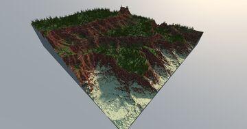 Rocky Mesa Minecraft Map & Project