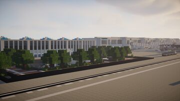 greenville-spartanburg international airport 1:1 Scale +Download Minecraft Map & Project
