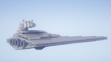 Imperial II Class Star Destroyer Minecraft Map & Project