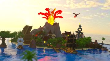 New Providence | Large Pirate Hub Minecraft Map & Project