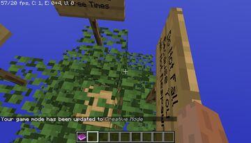 One Blockk V2.0 Minecraft Map & Project